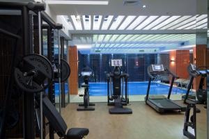 The fitness center and/or fitness facilities at Victory Hotel & Spa Istanbul