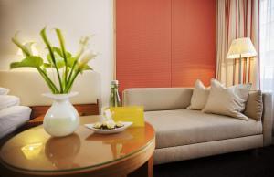 A seating area at Boutique Hotel Das Tigra