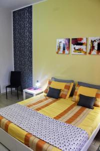 Postel nebo postele na pokoji v ubytování Blau Vacanze