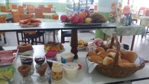 Breakfast options available to guests at Gula Gula