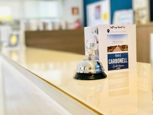 Vestíbul o recepció de Hotel Carbonell