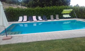 The swimming pool at or near Quinta da Picoila