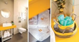 A bathroom at Nayino Resort Hotel