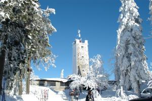 Landgasthof/Landhaus Waldlust im Winter