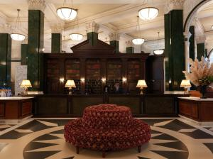 The lobby or reception area at The Ned