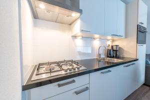 A kitchen or kitchenette at De Pelikaan Texel Appartmenten