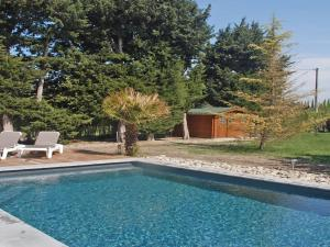 The swimming pool at or near Spacious Holiday Home in Provence with Private Pool
