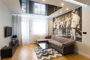 A seating area at Prestige Apartamenty Bystra Woda Centrum