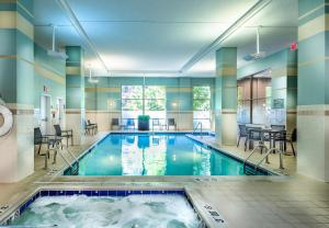 The swimming pool at or near Residence Inn Arlington Courthouse
