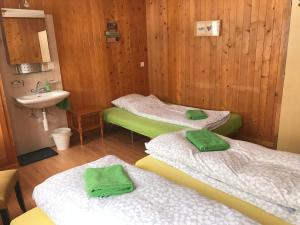 Ein Bett oder Betten in einem Zimmer der Unterkunft Guesthouse Alive