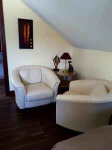 A seating area at Muldowney's B&B