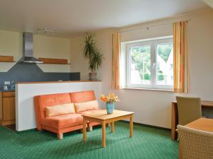 Ein Sitzbereich in der Unterkunft Berggasthof Hotel Igelwirt