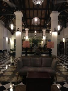 The lobby or reception area at Villa Maison Con Dao Boutique Hotel