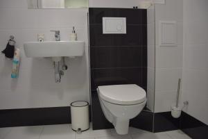 Łazienka w obiekcie Apartamenty Słowackiego 1 & Ogrodowa 2