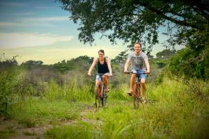 Biking at or in the surroundings of Elephas Resort & Spa