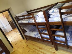 A bunk bed or bunk beds in a room at SWEEThostel