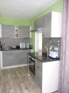 A kitchen or kitchenette at Haus Am Friedrichsbach