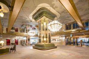 The lobby or reception area at Nara Royal Hotel