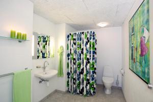 Et badeværelse på Caféhaven