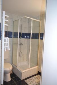 A bathroom at Nagytabán Vendégház