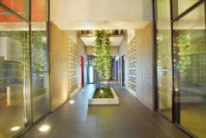 The lobby or reception area at Candeo Hotels The Hakata Terrace