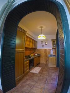 Cucina o angolo cottura di Casa Jare