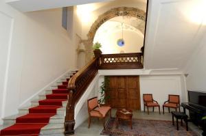 The lobby or reception area at Hotel Ristorante Le Clarisse