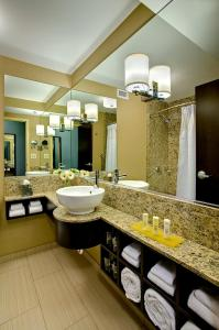 A bathroom at Crowne Plaza Chicago O'Hare Hotel & Conference Center