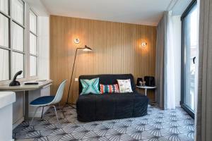 Coin salon dans l'établissement Vintage Hotel Brussels