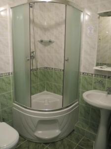 Ванная комната в Гостиница Отель