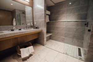 A bathroom at The Preston House and Hotel