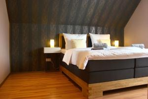Ein Bett oder Betten in einem Zimmer der Unterkunft Holiday Home Kötz