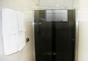 A bathroom at Hotel Fiorini Ltda