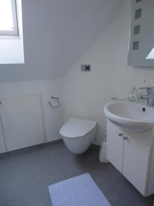 Et badeværelse på Kongsgård Bed & Breakfast