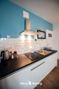 A kitchen or kitchenette at Very Berry - Zwierzyniecka 30 - check in 24h, parking, lift