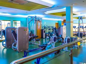 The fitness center and/or fitness facilities at The Lady Gregory Hotel, Swan Leisure Club