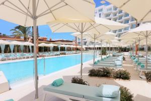 The swimming pool at or near Iberostar Selection Playa de Palma