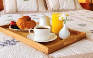 Breakfast options available to guests at De Volan Boutique Hotel