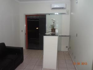 A kitchen or kitchenette at Hotel Ox Inn