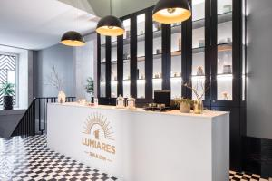 The lobby or reception area at The Lumiares Hotel & Spa - Small Luxury Hotels Of The World