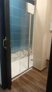 A bathroom at Hotel Sostenible La Laguna