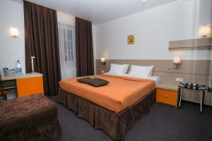 Кровать или кровати в номере Отель Вилла Лана
