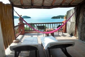 Un balcón o terraza de Hotel Aura del Mar