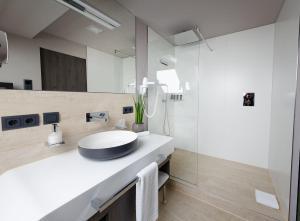 Et badeværelse på Hotel Stadt München