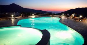 The swimming pool at or near Amorgion Hotel
