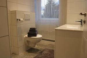 Ein Badezimmer in der Unterkunft Gestüt Kaiserhof