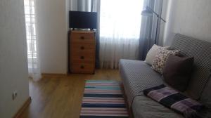 Кровать или кровати в номере Студия - Островок