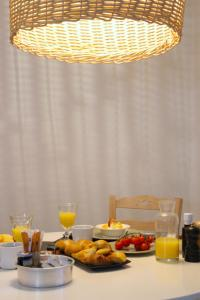 Breakfast options available to guests at Agave Santorini Design Boutique Hotel