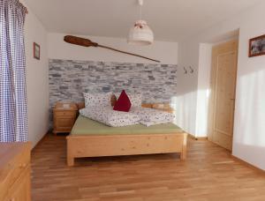 Ein Sitzbereich in der Unterkunft Niederhof