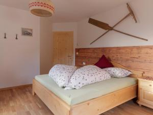Ein Bett oder Betten in einem Zimmer der Unterkunft Niederhof
